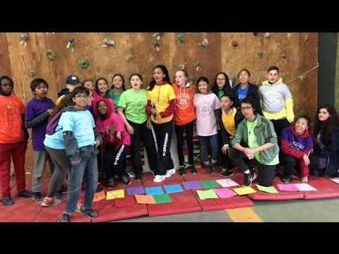 Camp Olympia Elementary 2017 - Canada 150 - Wavin' Flag
