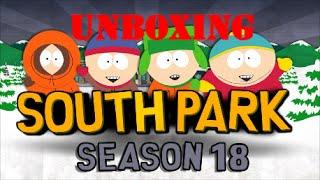 South Park Season 18 DVD Unboxing