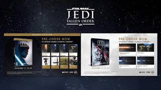 Star Wars Jedi: Fallen Order Deluxe And Standard Pre Order Bonuses (updated)