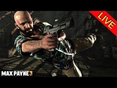 ¡Descubriendo Max Payne 3 en vivo!
