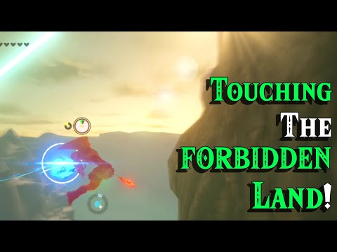 Touching The UNEXPLORABLE Hyrule In Zelda Breath Of The Wild