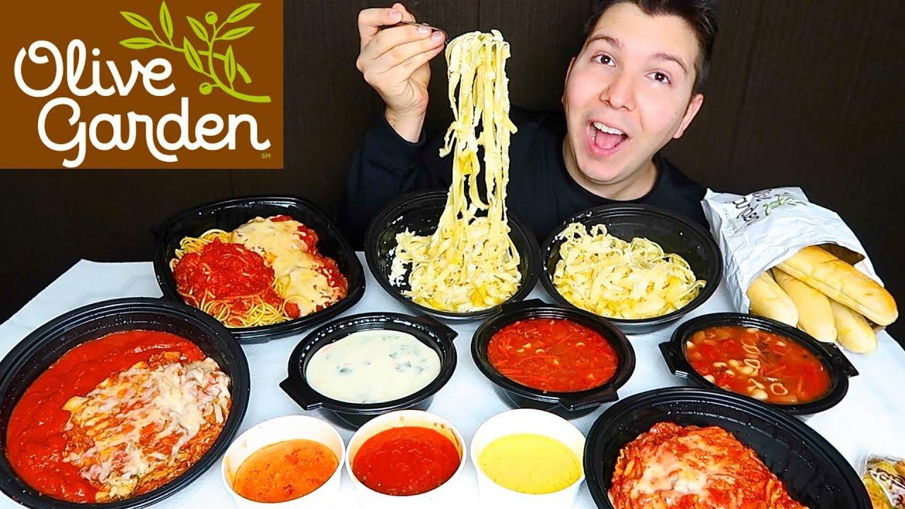Olive Garden Mukbang Youtube
