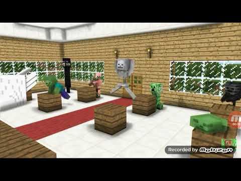 Canavarlar Okulu ( Minecraft )