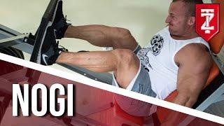 ĆWICZENIA NA NOGI: Wypychanie nóg na suwnicy skośnej - SERIA SOLID MASS (Zapytaj Trenera)