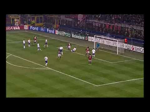 AC Milan vs Manchester united 2-3 but de clarence seedorf