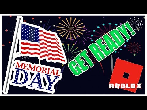 How to Get Ready for Memorial Day Sale 2018!   Roblox Sales