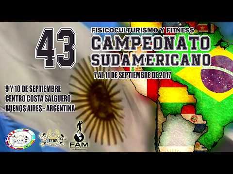 CAMPEONATO SUDAMERICANO IFBB EN BSAS ARGENTINA