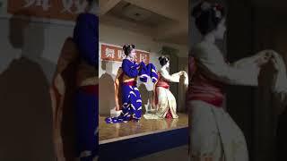京都舞妓茶屋夏イベント。先斗町歌舞練場。kyoto maiko, ponto alley, dancing, 祇園小唄 thumbnail
