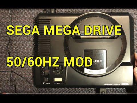 SEGA Mega Drive 50/60 hz Mod PAL  - YouTube