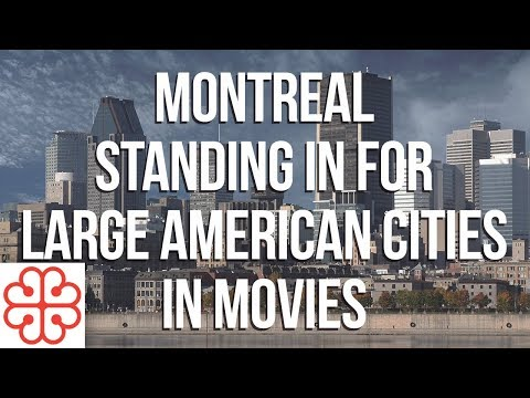 Montreal Standing In For Large American Cities In Movies