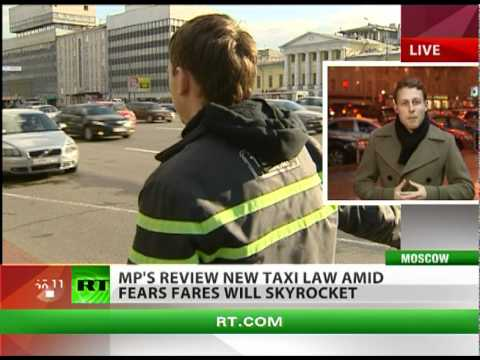 Moscow taxi fares could skyrocket