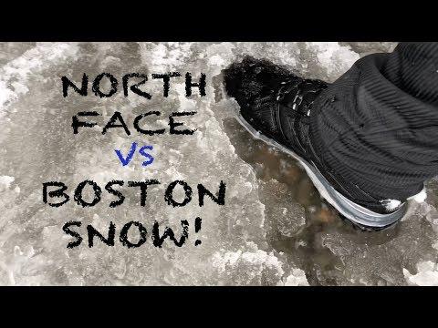 NORTH FACE ULTRA X-TREME BOOTS VS BOSTON SNOW