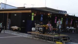 2014津別七夕祭りのステージからmixjamの演奏でRCサクセションの「タラ...