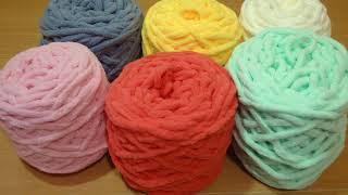 NEW! Aliexpress: Обзор нежнейшей плюшевой пряжи + сравнение с Yarn Art Dolce! Оочень рекомендую! :)