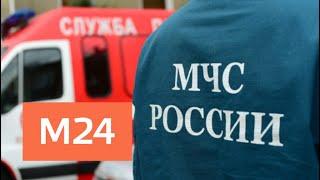 Смотреть видео МЧС продлило до понедельника штормовое предупреждение в Москве - Москва 24 онлайн