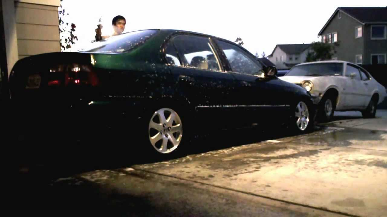 Aop Just The Weekly Wash 1999 Honda Civic Ek Sedan Dx Youtube
