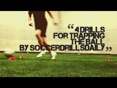 Soccer Drills for Trapping the Ball – 4 Drills to Help Develop Your Ball Control – SoccerDrillsDaily