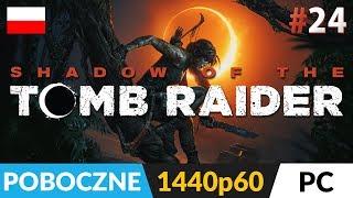 Shadow of the TOMB RAIDER PL (2018) ???? LIVE ???? Poboczne i grobowce z tej drugiej wioski - Na żywo