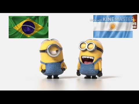Brazil Vs Argentina || Specially For Brazil Fans ||  Funny Cartoon Video || INTELLIGENCE'S TUBERS