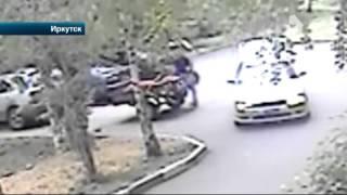 В Иркутске задержаны мужчины, пытавшиеся задавить человека во время похищения урожая картошки