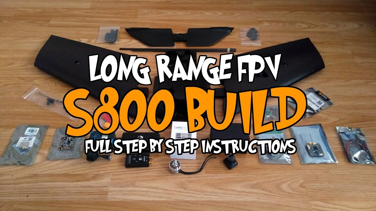Long range S800 - Detailed step by step build and Inav