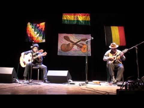 ALFREDO  COCA  &  WILSON  CRUZ         SELECCION de  POLKAS  del PARAGUAY       IV  FESTIVAL   de CHARANGO A bruxelles