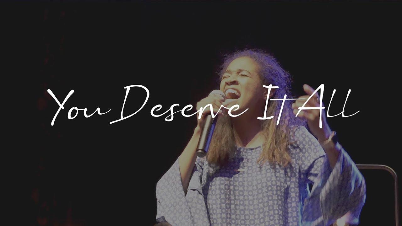 You Deserve It All | Christina Johnson | Monterey Music
