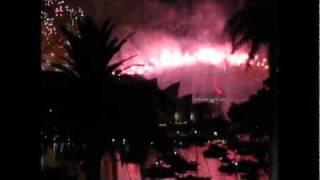 Sydney Fireworks New Year 2011