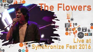 The Flowers LIVE @ Synchronize Fest 2016