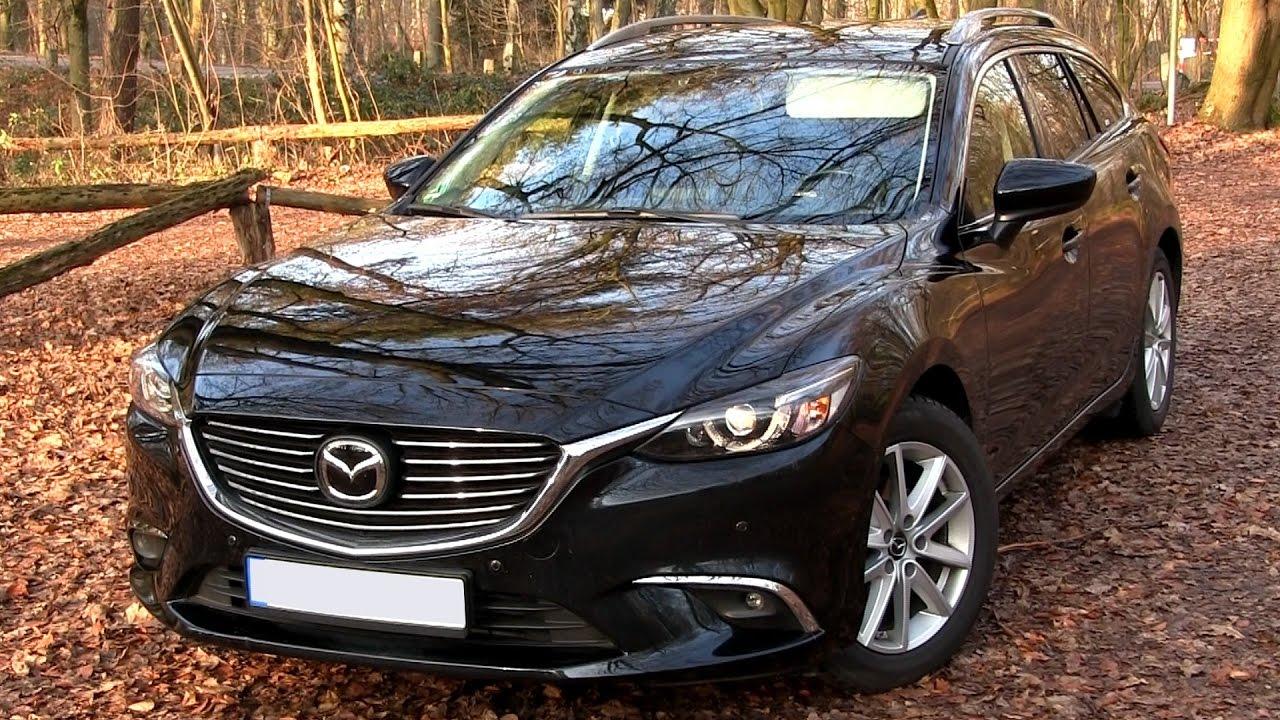 Beautiful 2016 Mazda 6 Combi 2.2 SKYACTIV D (175 HP) TEST DRIVE   YouTube