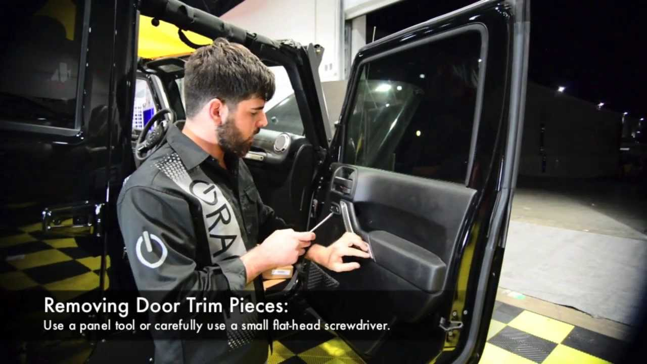 Jeep Wrangler JK ORACLE LED Off-Road Light Bar Mirrors Installation ...