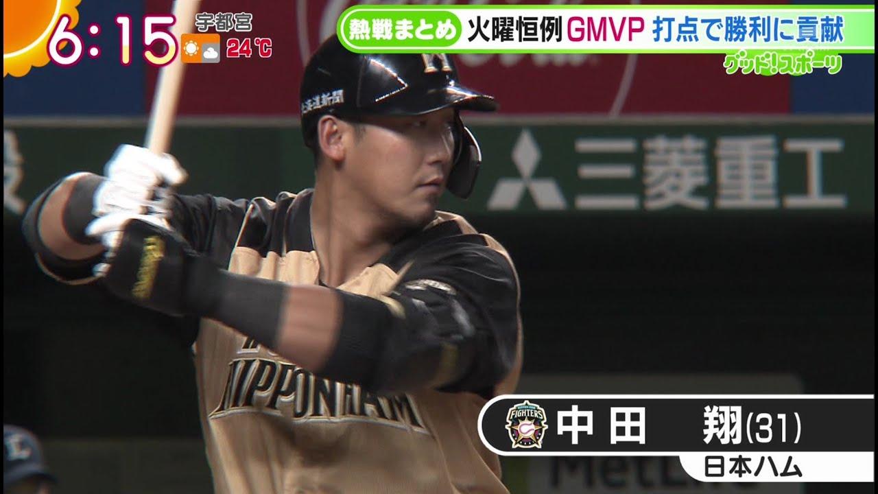 [ファイターズ]#中田翔   里崎氏厳選! 今週のMVP (200929)