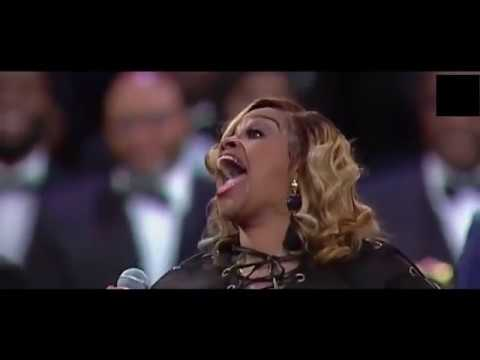 """The Legendary Clark Sisters """"Is My Living In Vain"""" Aretha Franklin's funeral Celebration!"""
