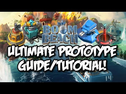 "Boom Beach - How to get ""Prototype Modules"" & ""Prototype Weapon Defense"" Guide/Tutorial!"