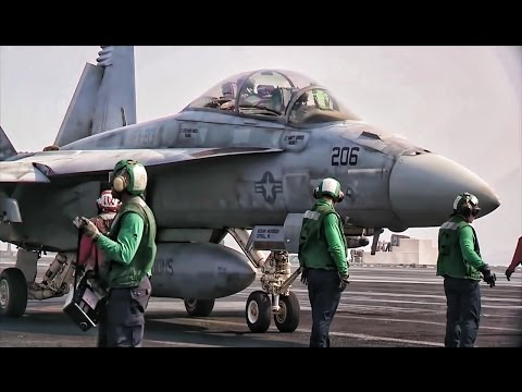 Fighting Blacklions Carrier Ops • F/A-18F Super Hornets