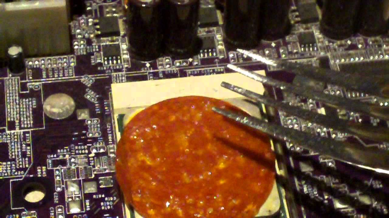Food Processor Heat