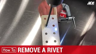 How To Remove A Riטet - Ace Hardware