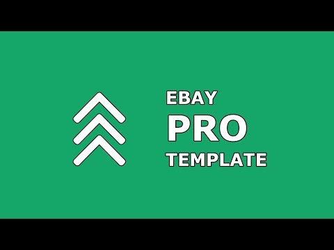 Mobile-friendly EBay Listing HTML Template - Designed For Beginners Without Software