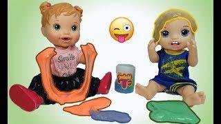 Slime Pedrinho e Aninha brincam com Gelelé! Aprendendo as misturas de cores