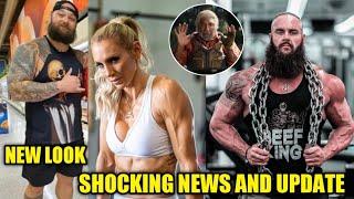 CM PUNK AEW ! Bray Wyatt new look ! Braun strowman shocking update ! Batista new look