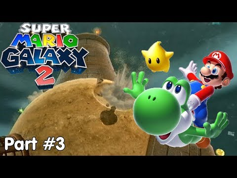 Slim Plays Super Mario Galaxy 2 - #3. Drill Zone
