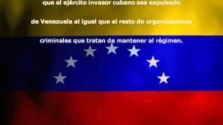 COMUNICADO POR LA LIBERTAD Y EL RESCATE DE LA REPUBLICA DE VENEZUELA