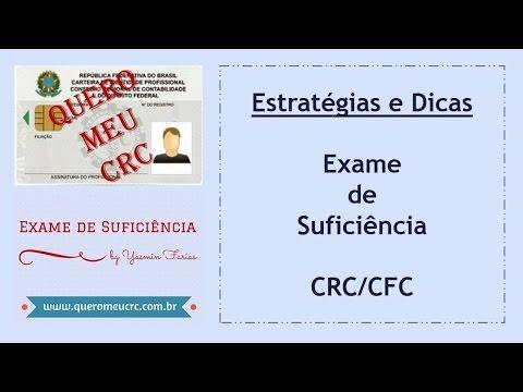 Estratégias e Dicas para fazer o Exame de Suficiência do CRC