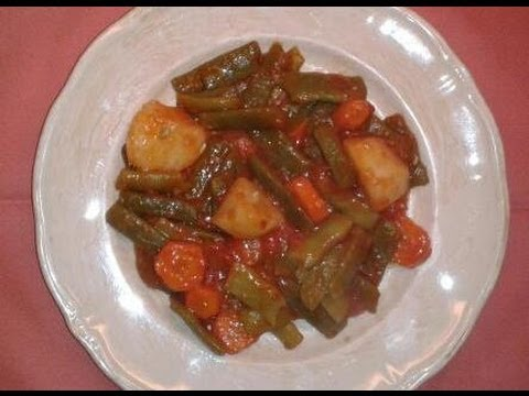 Judias verdes con tomate recetas de cocina cocina facil for Videos de cocina facil