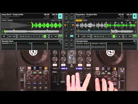 Traktor Kontrol S4 Tutorial: How to use the Loop Decks (by Ean Golden)