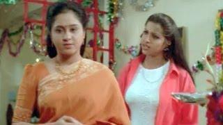 suswagatham scenes sandhya birthday celebrations in her house devayani
