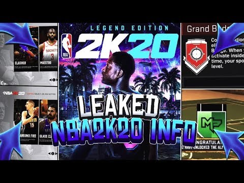 NEW* LEAKED NBA 2K20 INFO!! TAKEOVER, PARK BADGES, ARCHETYPES & MORE