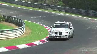 2019 BMW X5 Gets Tested On The Nurburgring