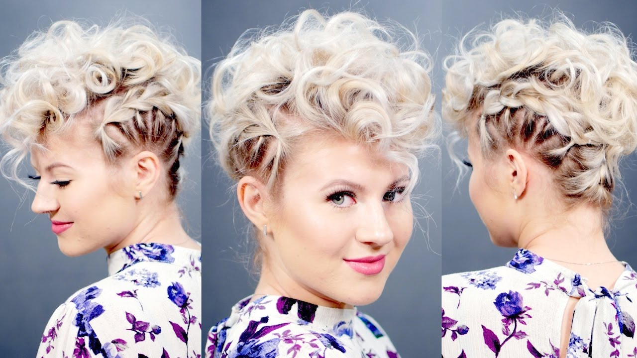 Creative Short Hairstyle: Retro Faux Hawk  Milabu