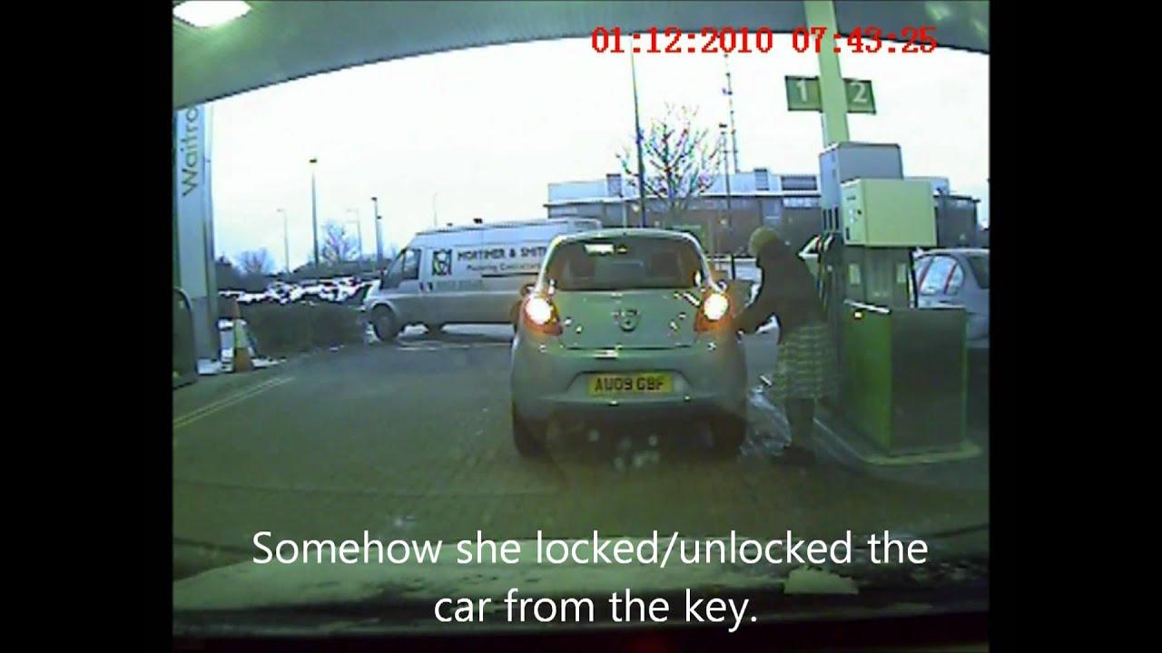 Tonys Dashcam Stubborn Petrol Cap
